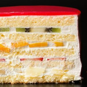 ケーキ デコレーション苺の可愛すぎる 萌え断ケーキ 西内花月堂 萌えるほどに可愛い断面のケーキ かわいい 冷凍便配送|bokunotamatebakoya|02