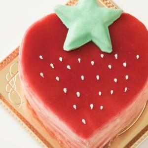 ケーキ デコレーション苺の可愛すぎる 萌え断ケーキ 西内花月堂 萌えるほどに可愛い断面のケーキ かわいい 冷凍便配送|bokunotamatebakoya|06