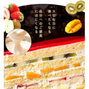 ケーキ デコレーション苺の可愛すぎる 萌え断ケーキ 西内花月堂 萌えるほどに可愛い断面のケーキ かわいい 冷凍便配送|bokunotamatebakoya|09