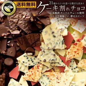 チョコレート 訳あり 割れチョコ 21種類の選べるケーキ割れチョコ 送料無料 [ チョコレート チョコ カカオ 70% ] 詰め合わせ グルメ