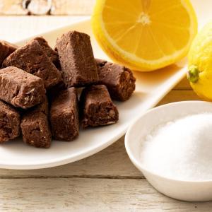 半額 チョコレート 塩レモンチョコ 100g [ 送料無料 溶けない チョコレート レモン 塩 塩分補給 耐熱 チョコ 塩飴 熱中症 爽やか 間食 ] チョコ スイーツ グルメ bokunotamatebakoya 16