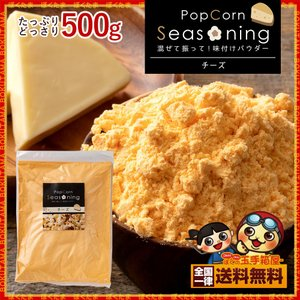 シーズニング パウダー チーズ 大容量 500g 送料無料 [ ポップコーン 粉 スパイス ポテト フライドポテト 味 文化祭 祭り 屋台 ]|bokunotamatebakoya