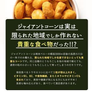 ジャイアントコーン 1kg(250g×4) 全7種類から選べる おつまみジャイコンズ ジャイコン トウモロコシ 送料無料 グルメ|bokunotamatebakoya|05