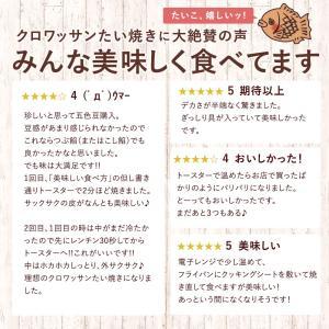 たい焼き 和菓子 送料無料 クロワッサン 鯛焼き 9種から選べる 30匹 セット つぶあん こしあん クリーム 豆 餡 たいやき 冷凍便|bokunotamatebakoya|08