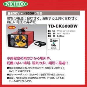 日動 屋外型降圧トランス TB-EK300DW|bokunou