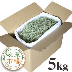 牧草市場 USチモシー 2番刈り 牧草 ソフトタイプ 5kg 袋入
