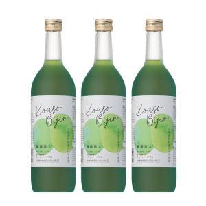(3本セット)シーボン 酵素美人緑(PJ)(5倍濃縮・キウイフルーツ味)720ml (送料無料)|bombyx