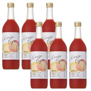 (6本セット)シーボン 酵素美人赤(5倍濃縮・グレープフルーツ味)720ml (送料無料)|bombyx