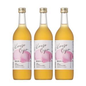 (3本セット)シーボン 酵素美人桃(5倍濃縮・長野・山梨産白桃味)(送料無料)|bombyx
