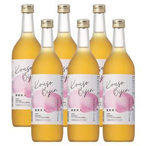 (6本セット)シーボン 酵素美人桃(5倍濃縮・長野・山梨産白桃味)(送料無料)|bombyx