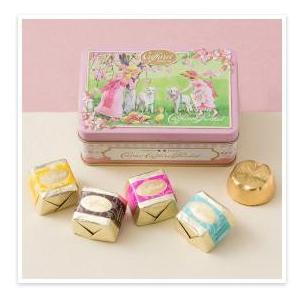 カファレル CaffarelNew リバイバル小缶(Pink) チョコレート(5粒入り)  ★ドレス...