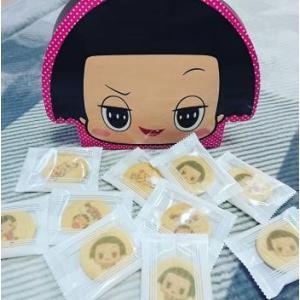 チコちゃんに叱られる!顔型箱入りクッキー10枚入り キャラクターグッズ お菓子 クッキー NHK