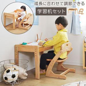 ベビー キッズ 子ども用家具 インテリア 子供机 勉強机 学習机 学習椅子 デスク チェアー 2点セット|bon-like