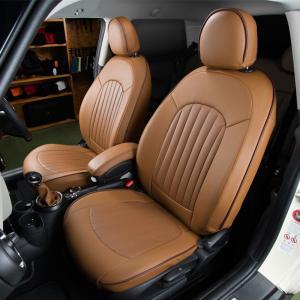 BMW MINI F系 シートカバー パークレーン・本革パンチング 全シート