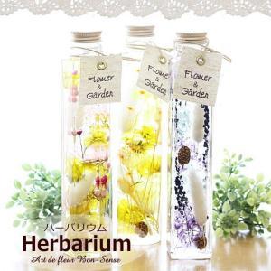 ハーバリウム Herbarium ≪スタンダード≫ 植物標本 ギフト プリザーブドフラワー ドライフラワー|bon-sense