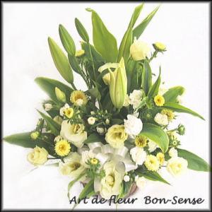 お供え 花 フラワーアレンジメントYW024|bon-sense