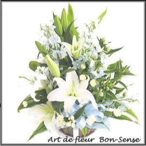 お供え 花 フラワーアレンジメントWB025|bon-sense