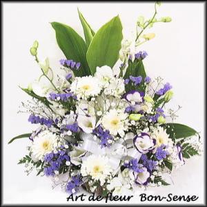 お供え 花 フラワーアレンジメントWM032|bon-sense