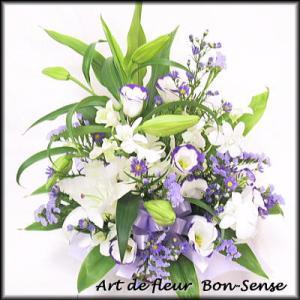 お供え 花 フラワーアレンジメントWM034|bon-sense