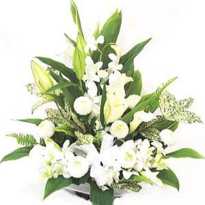 お供え 花 フラワーアレンジメントWW036|bon-sense