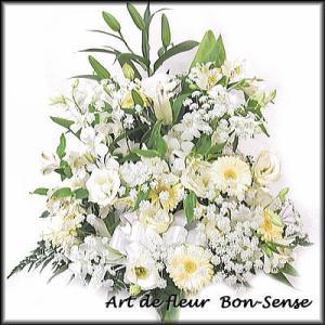 お供え 花 フラワーアレンジメントWC040|bon-sense