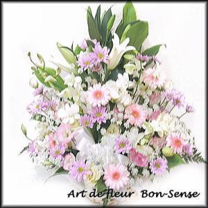 お供え 花 フラワーアレンジメントWP041|bon-sense