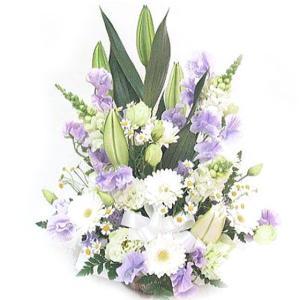 お供え 花 フラワーアレンジメントWM048|bon-sense