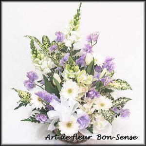 お供え 花 フラワーアレンジメントWM049|bon-sense