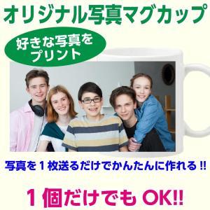 プリントしたい写真をお送りいただくだけで、 写真プリントマグカップが出来ます!  写真をそのままマグ...