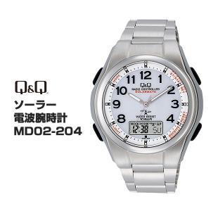 シチズン Q&Q CITIZEN ソーラー 電波腕時計 MD02-204 チープシチズン|bonanzashop