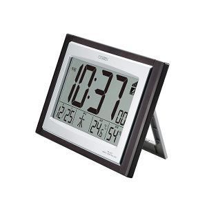 シチズン CITIZEN パルデジットコンビR096 電波デジタル時計 8RZ096-023 掛置兼用|bonanzashop|02