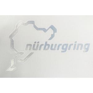 ニュルブルクリンク ステッカー ブラック 12cm NRA9920A
