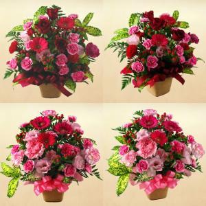 季節の花タップリのおまかせフラワーアレンジメント♪|bonita-bonita|02