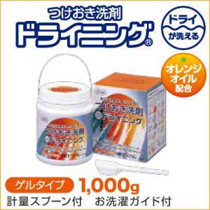 つけおき洗剤 ドライニング 1000g|bonita