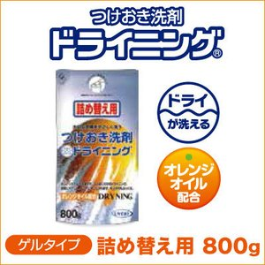 つけおき洗剤 ドライニング(詰め替え用) 800g|bonita