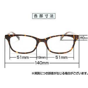 メガネ 眼鏡 めがね PC用 ブルー ライトをカット 医療用フィルターレンズ サプリサングラス Medical Glass (メディカルグラス)MG-301|bonita|02