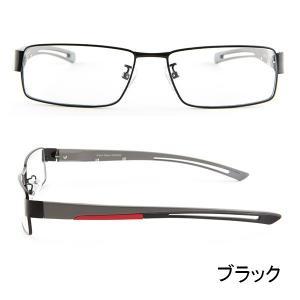 ブルーライトをカット 医療用フィルターレンズ PC用 眼鏡 めがね パソコンメガネ サプリサングラス Vision Moda(VM-0033)(男性用)|bonita|04