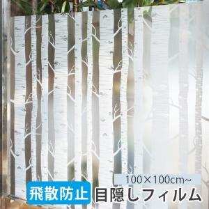 ●商品名:【デザイン窓ガラスフィルム】シラカンバ ●サイズ:横100cm×縦100cm ●発送方法:...
