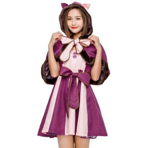 商品コード: y1418144 セット内容:ワンピース、ケープ、ベルト、しっぽ 商品説明:女の子に大...