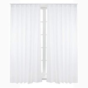 Bedsure レース カーテン 白 UVカット 外から見えにくい 遮熱 洗える 省エネ ホワイト ...