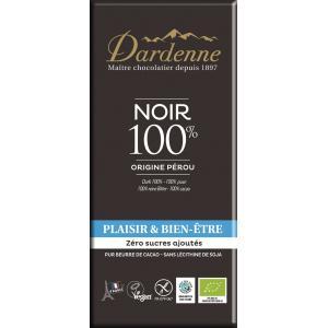 ダーデン 有機チョコレート カカオ100% 70g bonraspail