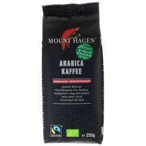 マウントハーゲン オーガニック フェアトレード カフェインレス ロースト&グラウンドコーヒー