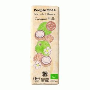 ピープルツリー フェアトレードチョコレート ココナッツミルク 50g|bonraspail