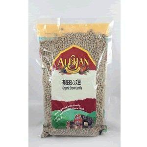 アリサン 茶レンズ豆 bonraspail