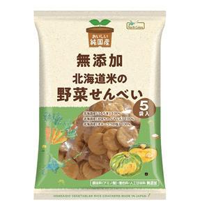 North Colors 純国産 北海道米の野菜せんべい bonraspail