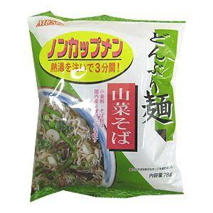 ムソー どんぶり麺 山菜そば|bonraspail