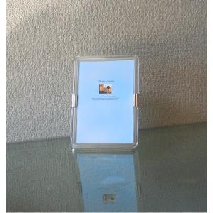 【商品名】 クリアフォトフレーム サービスサイズ(127×89mm) 【ジャンル・特徴】 透明感があ...