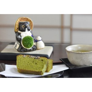 母の日 盆栽 信楽たぬきの苔盆栽 親たぬきと京都の人気お土産 お抹茶ケーキ お菓子セット 送料無料 bonsaimyo