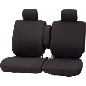 ボンフォーム 軽自動車ベンチフロントシートカバー [カラードカバー] フロント[前席]席 ブラック|bonsan