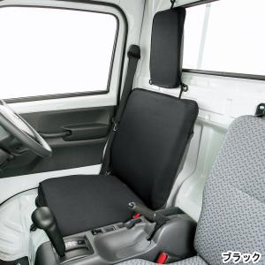 新タイプ デカ枕対応 軽トラック用防水シートカバーウォーターストップ(1席分入り・ブラック) ウエットスーツ素材使用|bonsan